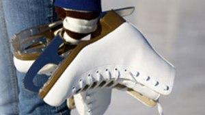 skates in hand