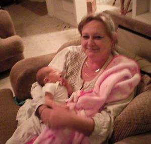 Rexann and baby Nataly