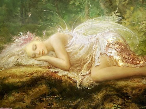 sleeping fairy1